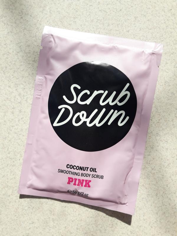 Кокосовый скраб для тела scrub down - coconut oil из серии pin...