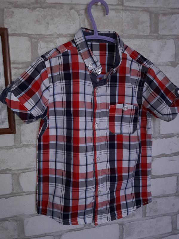 Рубашка george 4-5 л 110см хлопок