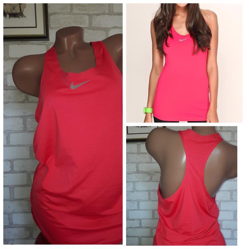 Nike pro спортивная майка р л