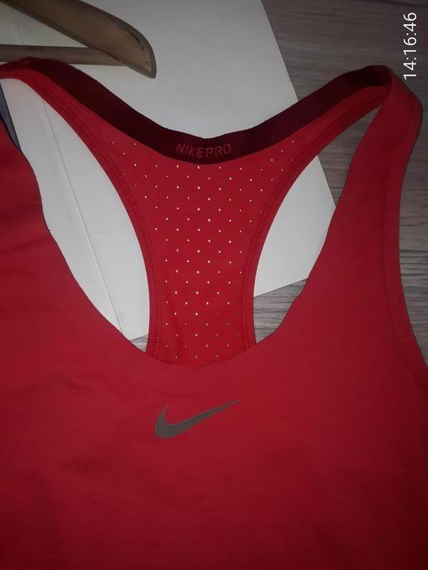 Nike pro спортивная майка р л - Фото 6