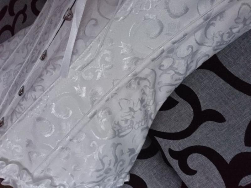 Шикарный юелый женский корсет - Фото 4