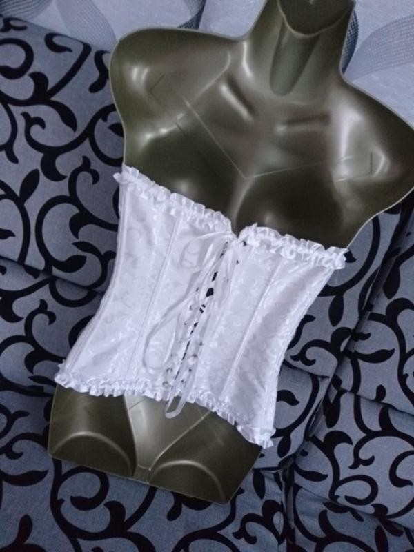 Шикарный юелый женский корсет - Фото 6