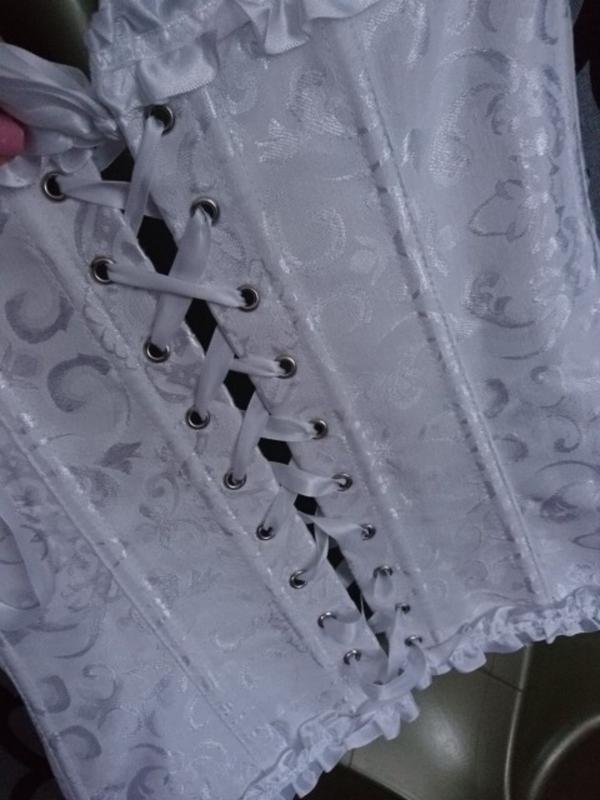 Шикарный юелый женский корсет - Фото 7