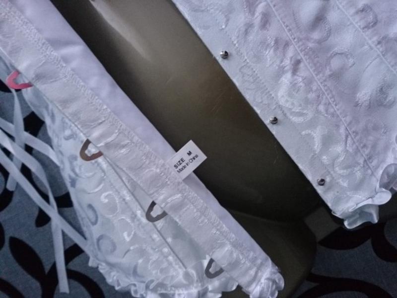 Шикарный юелый женский корсет - Фото 8