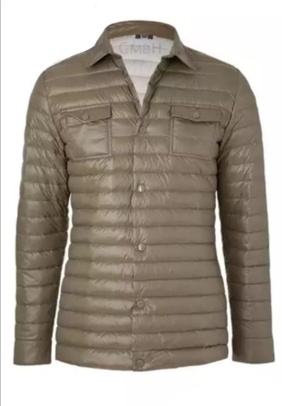 Демисезонная куртка пуховик мужская