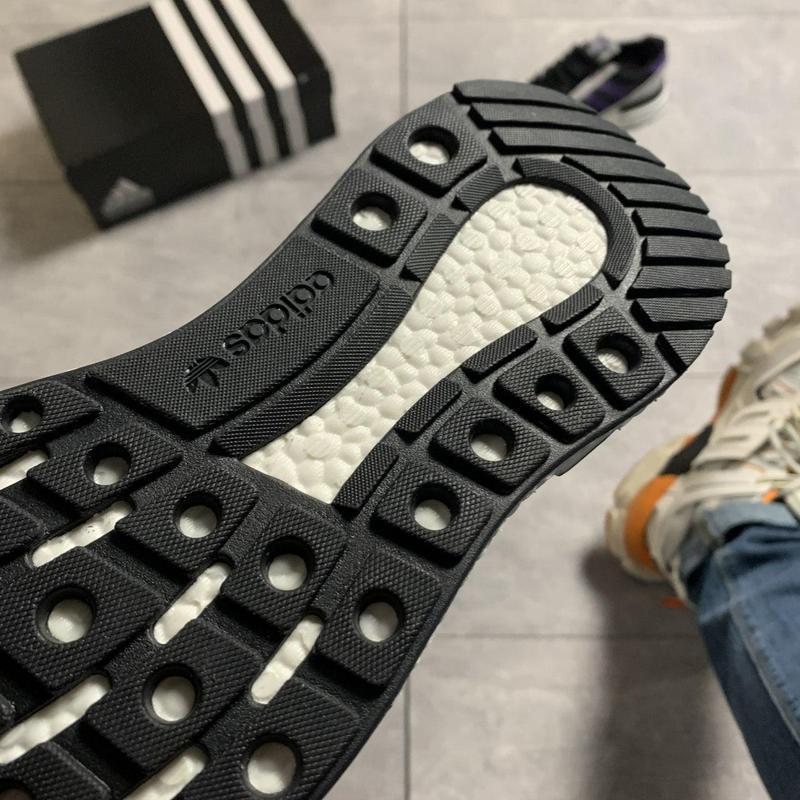 Adidas zx 500 violet gray. - Фото 10