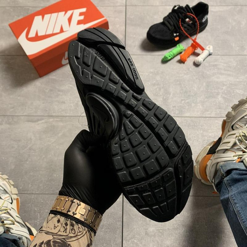 Nike air presto black x off white. - Фото 9