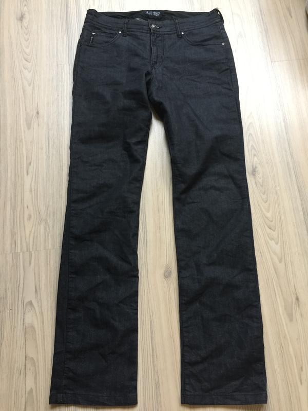 Джинсы armani jeans прямые р.27