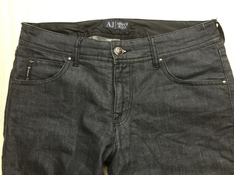 Джинсы armani jeans прямые р.27 - Фото 2