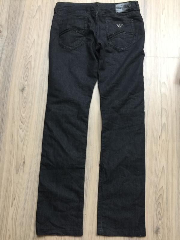 Джинсы armani jeans прямые р.27 - Фото 3