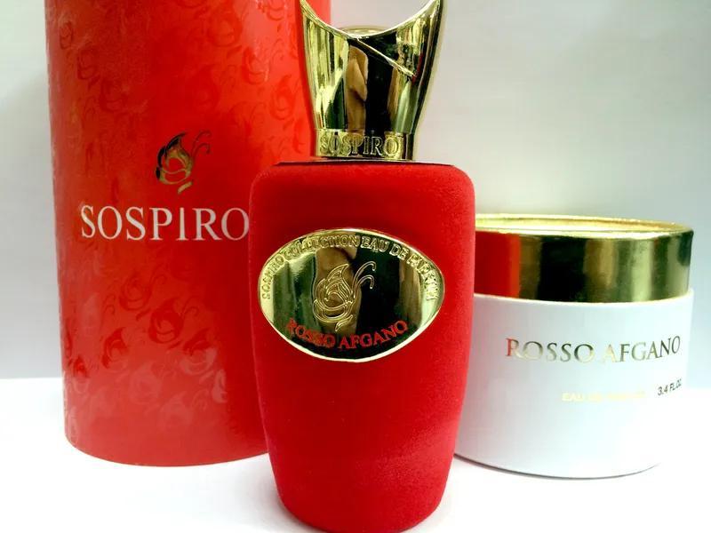 Sospiro Rosso Afgano_Оригинал Eau de Parfum 5 мл _затест парфюм