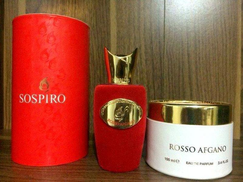 Sospiro Rosso Afgano_Оригинал Eau de Parfum 5 мл _затест парфюм - Фото 5