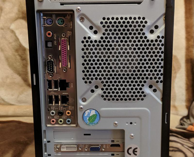 Системный блок Intel Core 2 Duo E7600/9600 GT/2GbDDR2/HDD160Gb - Фото 2