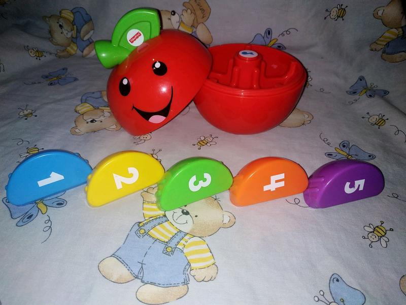 Интерактивная игрушка Fisher price умное яблоко - Фото 2
