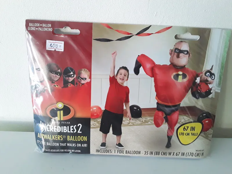 Шар фольгированный супер семейка