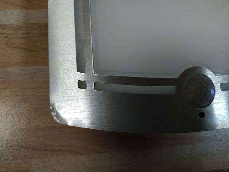 Светильник LED с датчиком движения PIR, освещенности, автономный. - Фото 7