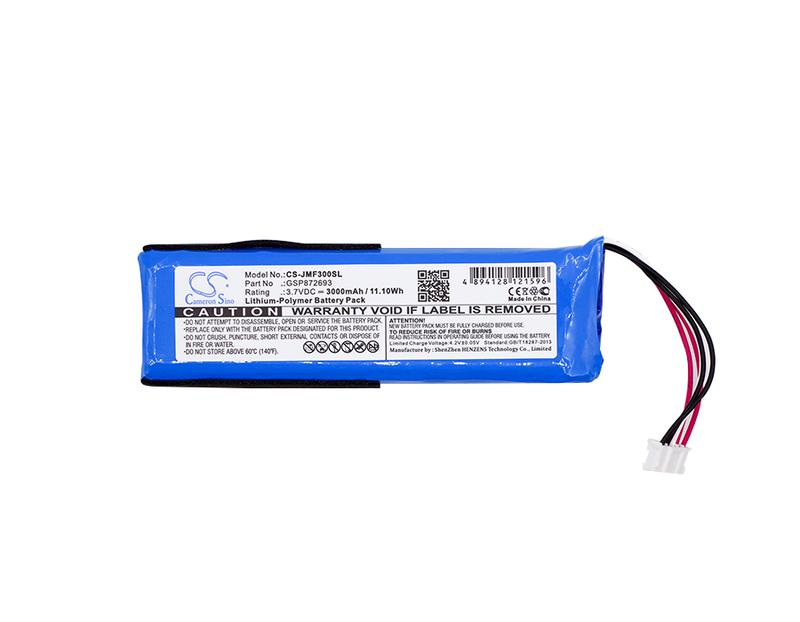 Аккумулятор для JBL Flip 3; 3000 mAh / GSP872693