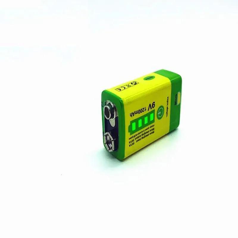 Аккумулятор Крона 9V 1200mAh Li-Ion зарядка micro-USB, PowerBank - Фото 2