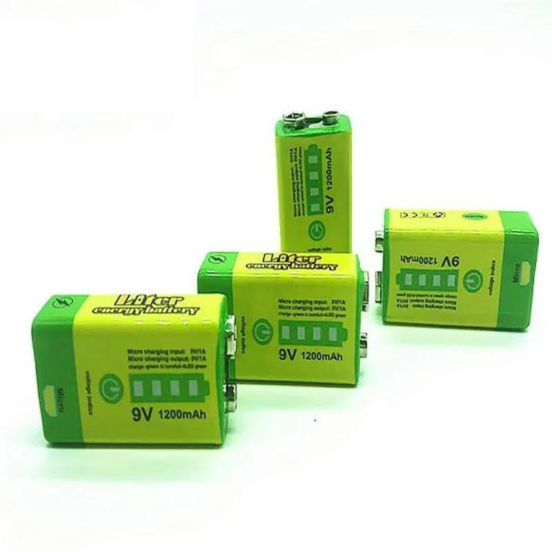 Аккумулятор Крона 9V 1200mAh Li-Ion зарядка micro-USB, PowerBank - Фото 6
