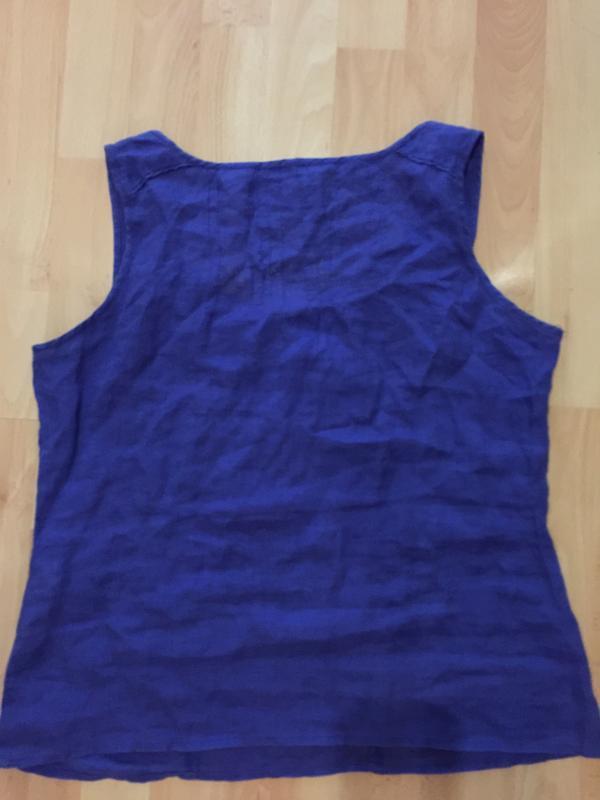 Блуза лен р.m - Фото 3