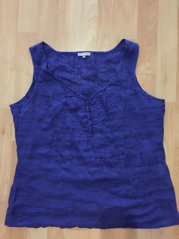 Блуза лен р.m - Фото 4