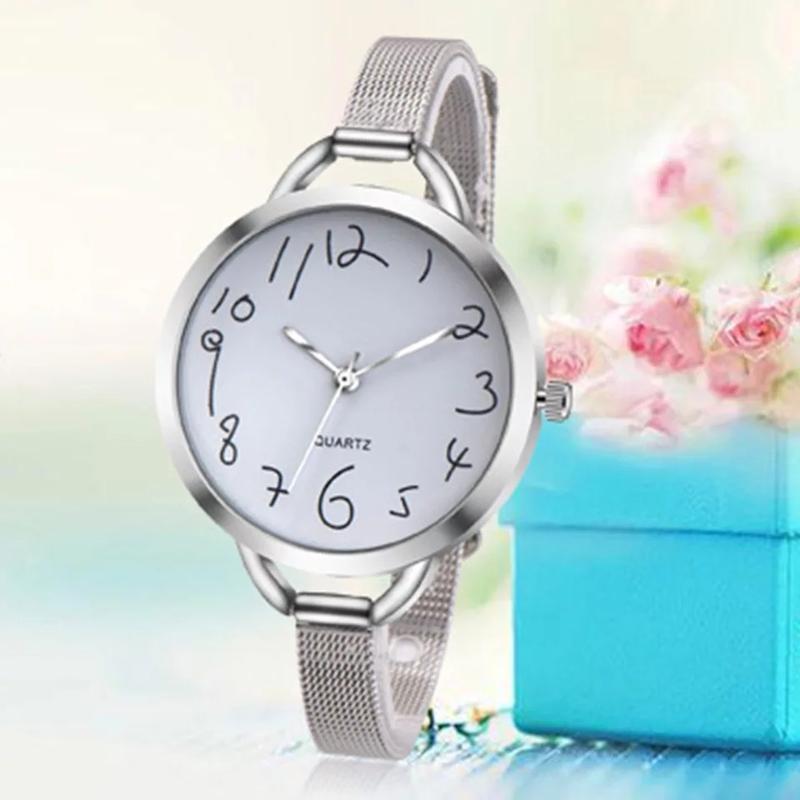 Красивые часы женские,стильний годинник, оригінальні цифри)!ча... - Фото 6
