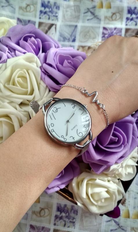 Красивые часы женские,стильний годинник, оригінальні цифри)!ча... - Фото 7