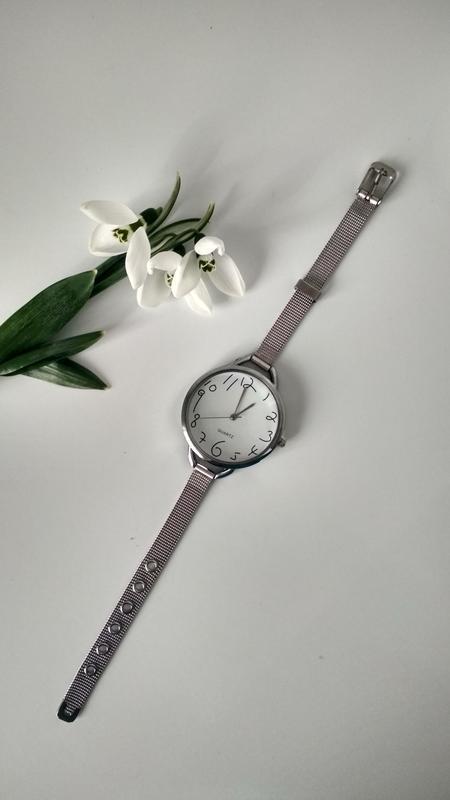 Красивые часы женские,стильний годинник, оригінальні цифри)!ча... - Фото 9