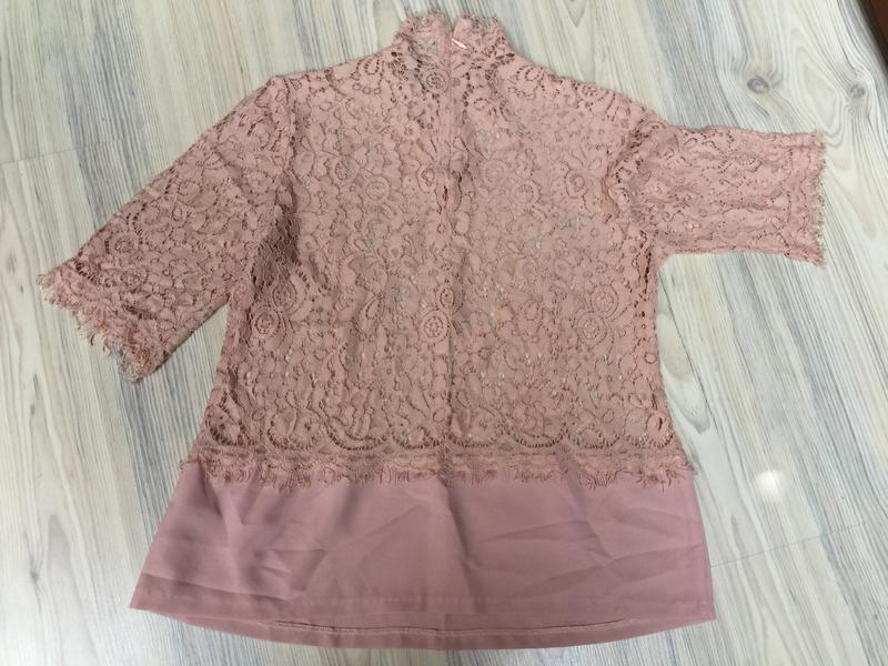 Нюдовая блуза р.s-m - Фото 2