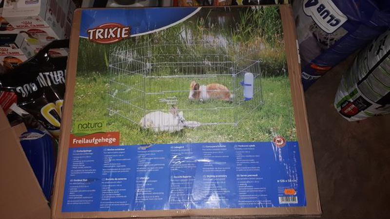 Вольер манеж с дверцей для собак, кошек, кроликов - Фото 2