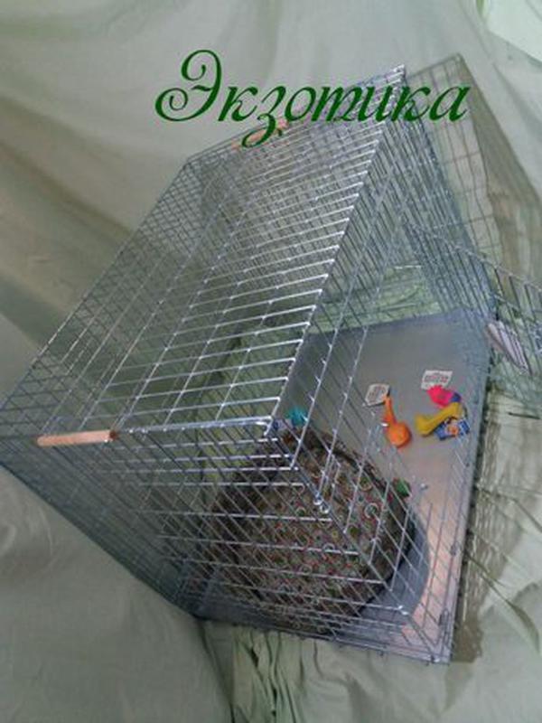 Клетка для собак 107 см Волк 2( вольер, манеж, метал поддон