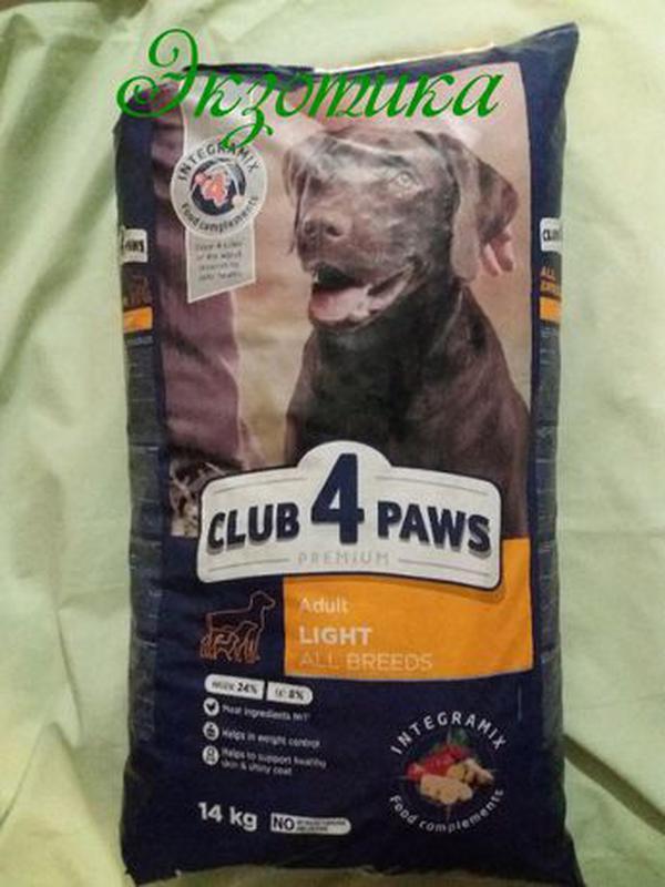Клуб 4 Лапы Light 14 кг (Лайт, контроль веса для собак)