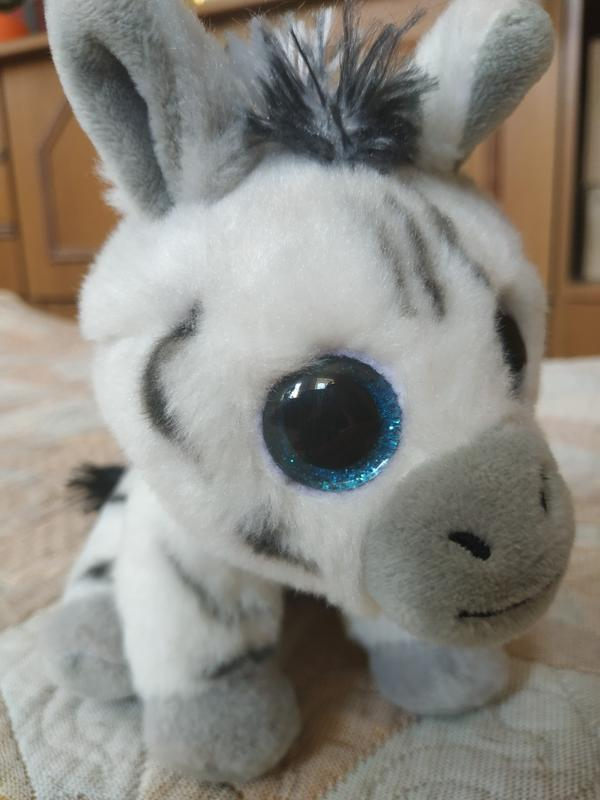 Мягкая игрушка зебра