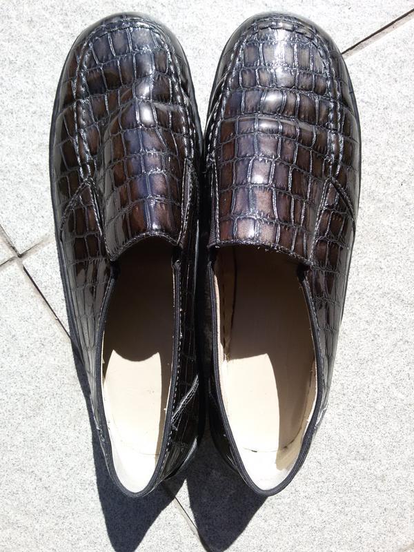 Стильные комфортные лаковые туфли на широкую стопу - Фото 5
