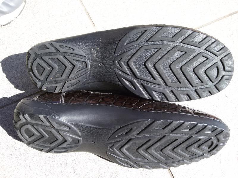 Стильные комфортные лаковые туфли на широкую стопу - Фото 6
