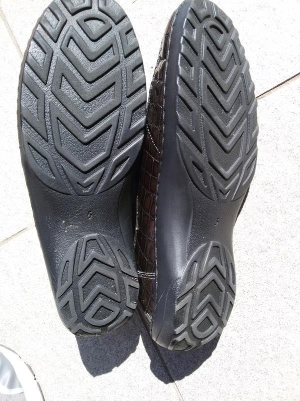 Стильные комфортные лаковые туфли на широкую стопу - Фото 7