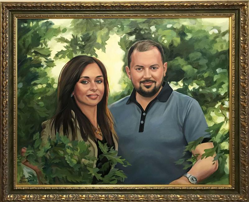 Картина, портрет по фото на заказ от профессионального художника - Фото 2