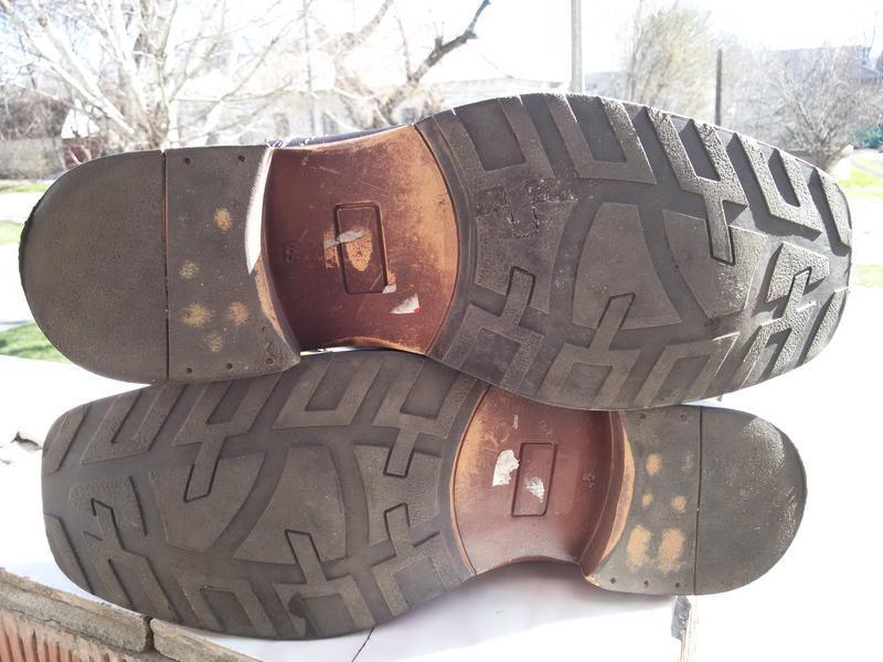Мужские стильные кожаные туфли ermano на широкую стопу - Фото 4