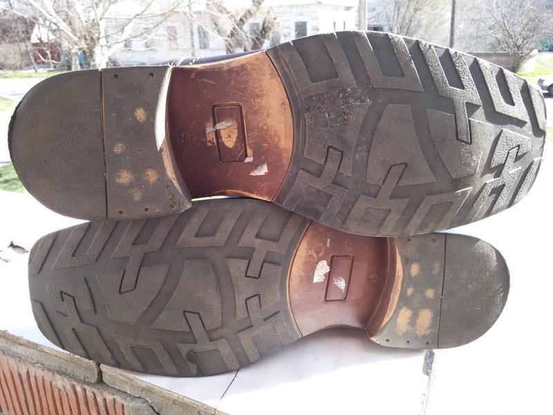 Мужские стильные кожаные туфли ermano на широкую стопу - Фото 5