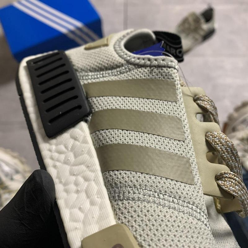 Adidas nmd runner grey green. - Фото 3