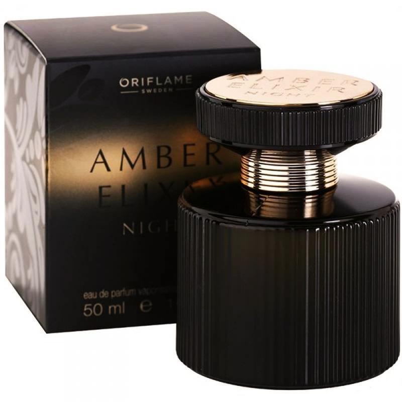 Женская парфюмерная вода Amber elixir night Oriflame!