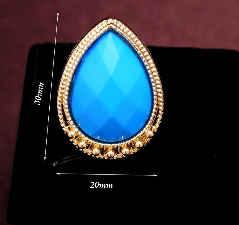Красивое элегантное кольцо с кристаллом, новое! арт.2460