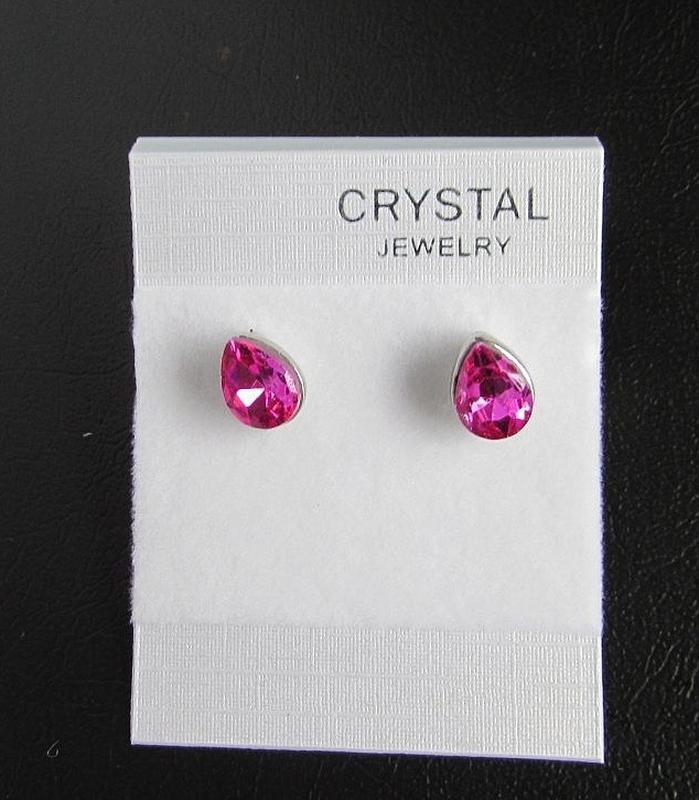 Изысканные серьги с кристаллами, новые! арт. 5079 - Фото 3