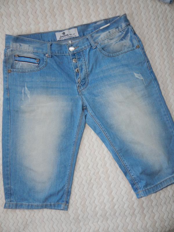 Шорты джинсовые шорты шорти justing