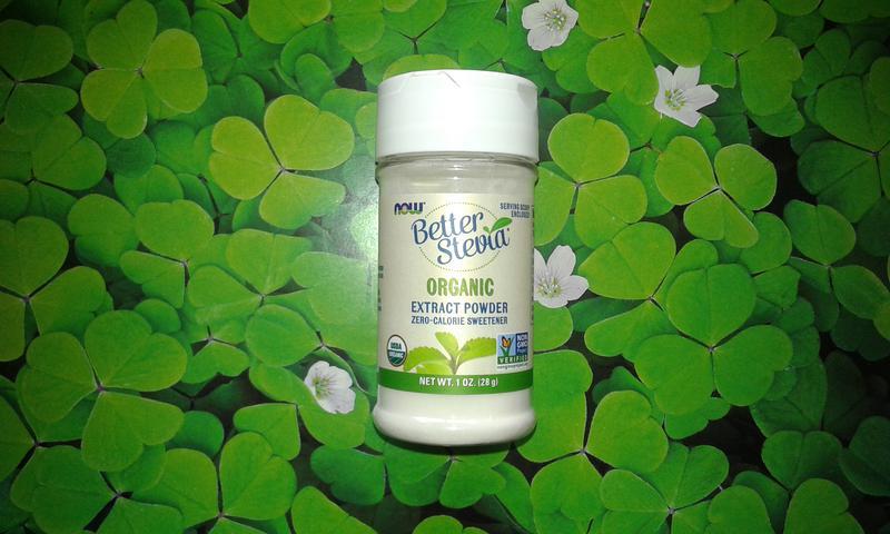 Органическая стевия Now Foods (заменитель сахара) - 28 г. США