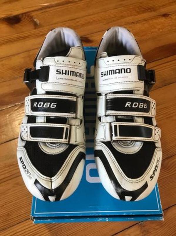 Велосипедные туфли (велосипедная обувь) 46 размер shimano