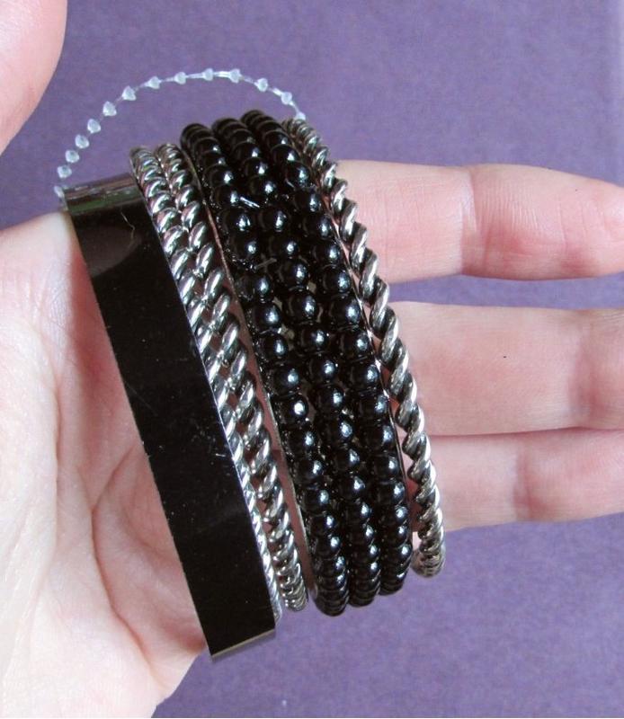 🏵красивый набор браслетов, новый! арт. 3593 - Фото 2