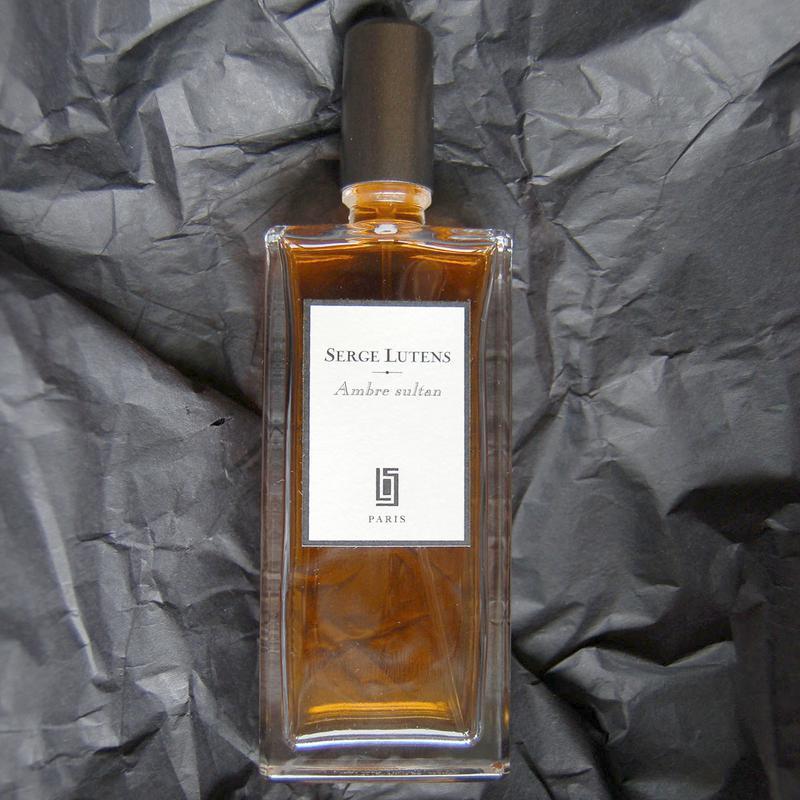 Serge Lutens Ambre Sultan_Оригинал Eau de Parfum 5 мл _затест