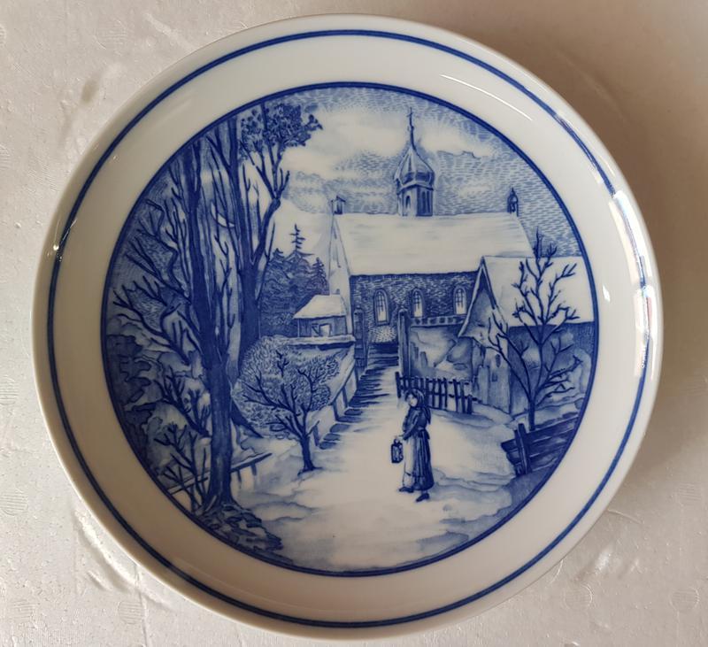Продам декоративную, фарфоровую тарелку Hutschenreuther
