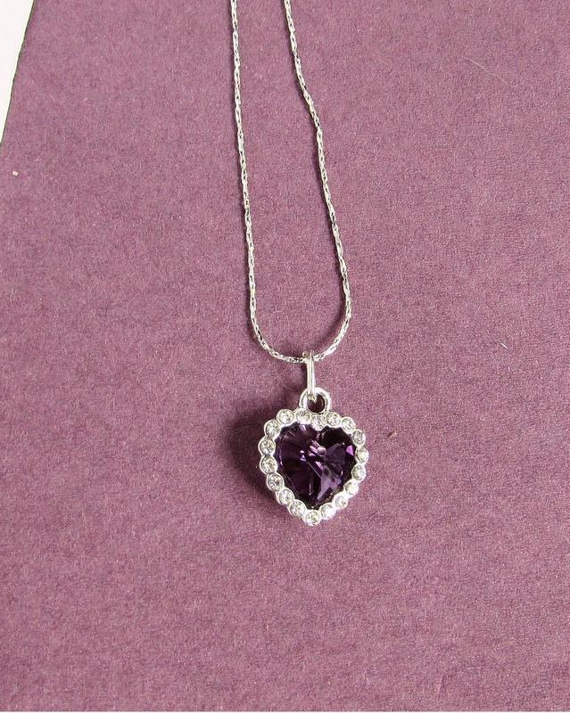 🏵ювелирный кулон- подвеска сердце на цепи, новая! арт. 8561 - Фото 2